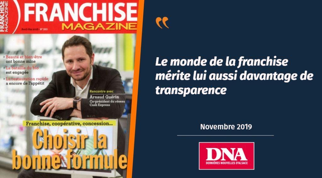 Le rachat de Franchise Magazine par Plus que PRO présenté dans les DNA