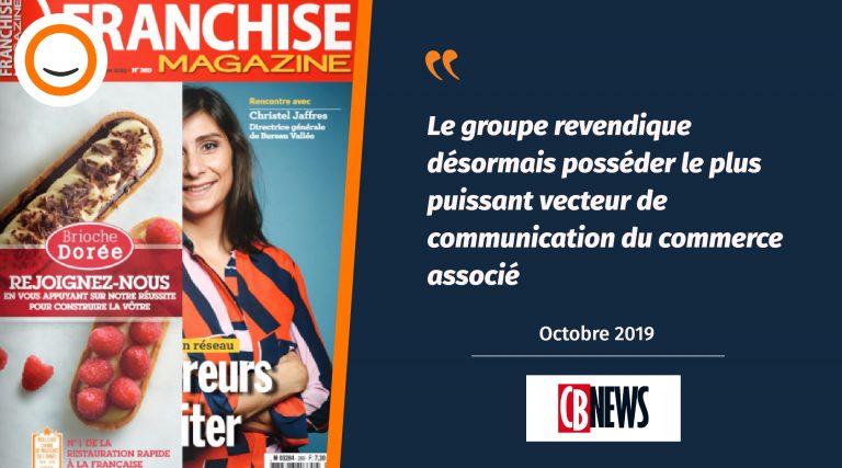 Le rachat de Franchise Magazine par Plus que PRO relayé dans CB News